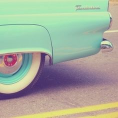 Pastel pastel pastel retro car