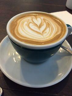 Coffee Art @ Carpenter & Cook