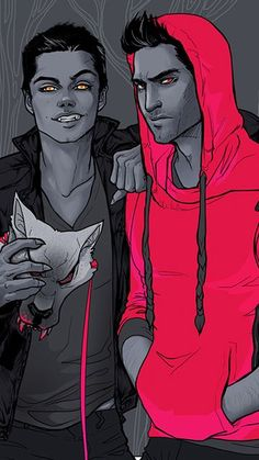 Character Swap Derek is the human aka Red Riding Hood and Stiles is the werewolf alpha pack leader Stiles Teen Wolf, Teen Wolf Art, Teen Wolf Ships, Teen Wolf Funny, Cenas Teen Wolf, Character Inspiration, Character Art, Comic Style, Werewolf Art
