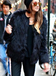 fur is a fashion statement