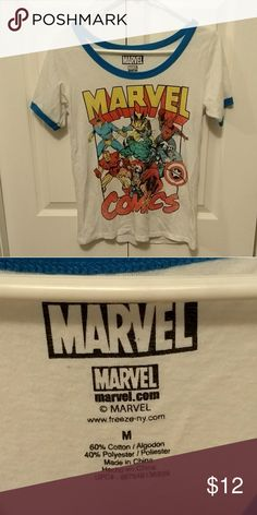 Marvel Comics Tshirt Very cute Marvel comics Tshirt Marvel Tops Tees - Short Sleeve