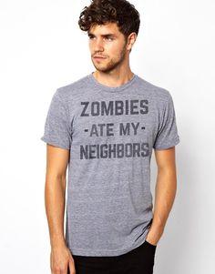 Zombies Ate My Neighbors - Tri-Blend T-Shirt