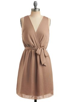 Neutral Shift Dress... would be pretty in white for the rehearsal dinner