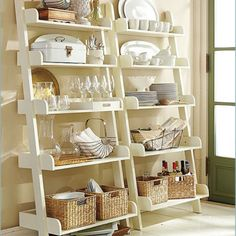 Decorating ideas for bookcases in dining room