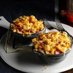 Turkey Cordon Bleu Casserole Recipe -Impress your holiday visitors with this fancier twist on the traditional casserole. —Kristine Blauert, Wabasha, Minnesota