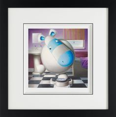 One At A Time Please, by Peter Smith #art #Impossimal