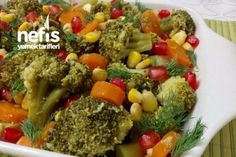Limonlu Sarımsaklı Enfes Brokoli Salatası Tarifi