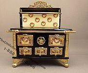 Rosebud miniature stove