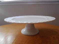 Wedgwood Ralph Lauren Claire pedestal cake stand ca. 1989 - EXCELLENT!!
