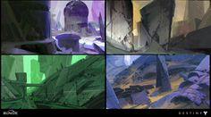 ArtStation - Destiny: Early Vex Exploration, Dorje Bellbrook