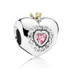 PANDORA Princess Heart with Pink CZ and 14K Charm gets a discount until 50% (qThxz5) - PANDORA Princess Heart with Pink CZ and 14K Charm gets a discount until 50% (qThxz5)-31
