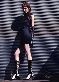 Chic Happens: Nicole Pollard By Todd Barry For Harper's Bazaar Australia November 2013
