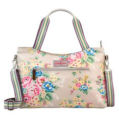 Candy Flowers Zipped Handbag with Detachable Strap | Cath Kidston |