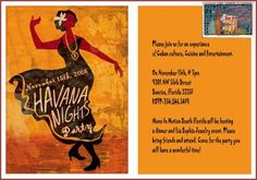 Havana Nights Party Invitation Photo:  This Photo was uploaded by momsinmotion. Find other Havana Nights Party Invitation pictures and photos or upload y...