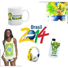"""""""World Cup Brazil 2014"""" by blan-xoxo on Polyvore"""