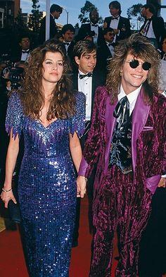 Jon Bon Jovi ja vaimo Dorthea Hurley. Kasari kyllä meni jo... Kuva: (c) Frank Trapper/Corbis.