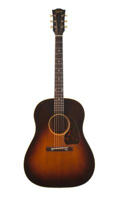 Vintage 1949 Gibson J-45 acoustic guitar.