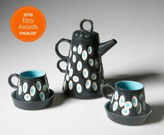 Nominated for the 2016 Etsy Awards UK & Ireland. To vote by June 6th go to: https://etsyawards.com/uk/Finalist-33/GavinBurnettCeramics #ceramics #Etsy #coffee Pot