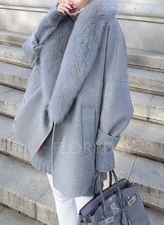 Coats & Jakker - $67.50 - Bomull & Bomullsblanding Langermet Andre Duffle Coats Vindtett Coats & Jakker (1715190682)