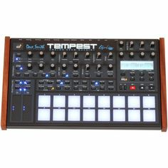 The Tempest is a collaboration between Smith and longtime friend and fellow instrument designer Roger Linn. Though they ve consulted with each other on past projects, the Tempest marks the first time a product will carry both the Dave Smith Instruments and Roger Linn Design logos, referring to Linn s legacy as inventor of the digital drum machine.. . The Tempest utilizes analog synthesis to generate the sounds. The Tempest s 16 velocity  and pressure sensitive pads are arranged in an 8 x 2…