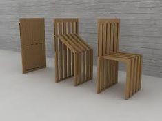 Resultado de imagem para Folding chair par Pawel Kochanski