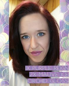 Back to the real world with a kick start from Purple Reign and Mauve Ice  LipSense 744f013b3dc40