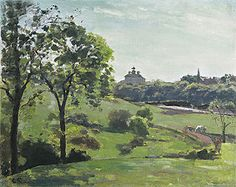 camille pizarro art | Upper Norwood, London - Camille Jacob Pissarro - Art Print on Canvas ...