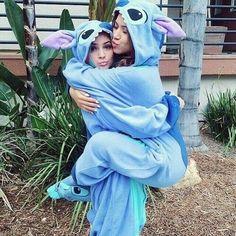Buy Women Best Friends Animal Kigurumi Pajamas Costume Cosplay Pajamas Blue Stitch Onesie Adult at Wish - Shopping Made Fun