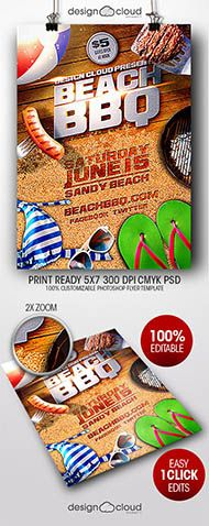 July Th Independence Day Flyer Template  Flyer Template