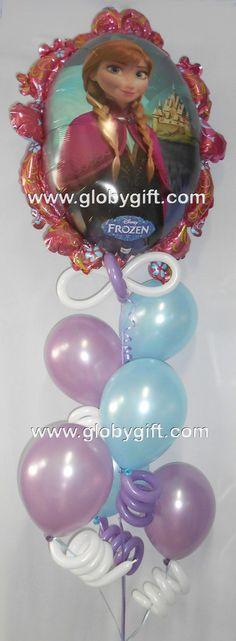Globos de Frozen de Disney