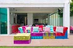 SALA DOBLE CRUNCH Es una sala modular para cualquier espacio! Nos encanta esta combinación!!!