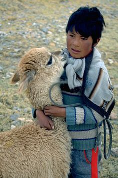 Young Altiplano herders.