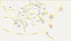 Rent A Car Las Tunas Cuba from CubaCar, Havanautos & REX from our Transtur Office Hotel Las Tunas, Las Tunas Cuba - Free Map