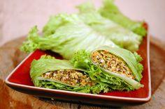 stuffed lettuce rolls by te.bien, via Flickr