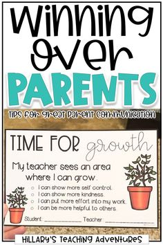 Parent-teacher communication can be daunting for any educator. Discover tips for winning parents over, such as talking often and sending home positive notes about your students. 3rd Grade Classroom, Future Classroom, School Classroom, Classroom Decor, Classroom Hacks, Parent Teacher Communication, Parent Teacher Conferences, Parent Notes, First Year Teachers