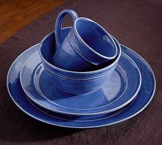 Cambria Dinnerware - Ocean #potterybarn