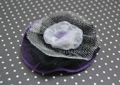 Handmade Feminine Lilac Brooch, Unique Wool Accessories, OOAK, Authentic Design, Original Gift for Her, Modern Bijouterie, Handmade Jewelry by JustAfantasy on Etsy