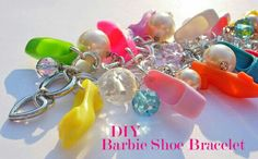 Reusar los zapatos de la barbie