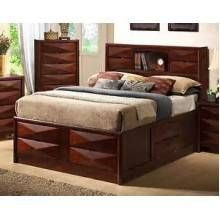 Bree Collection Bed Set (BRAND NEW!!!!) Brown Cherry  *** $773 ***  Contact Jay Kemp for additional information and questions regarding warranty.  Like us on Facebook for specials that we have going on and for additional information on products check us out at http://www.knoxfamilyfurniture.net