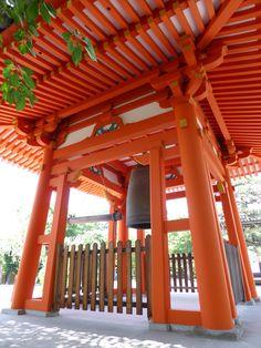 Temple bell, Sanjusangen-do, Higashiyama, Kyoto, Japan by rObfOs 2015