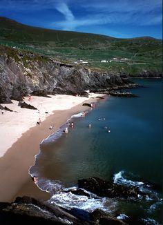 Clogher Strand, Dingle Kerry Ireland. I want to go see this place one day. Please check out my website thanks. www.photopix.co.nz