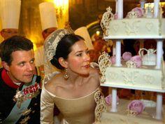 Tortas Gigantes - Bodas Reales   Príncipe Federico de Dinamarca y Mary Donaldson
