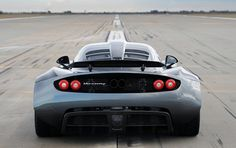 Move Over Veyron! The Hennessey Venom GT – The Fastest Production Car In The World