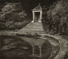 """Surya's Temple, Sezincote by Beth Dow from the series """"In the Garden"""""""