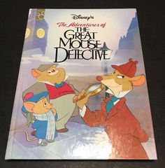 Vintage Disney The Great Mouse Detective Disney Classic Series 1994 Book  | eBay