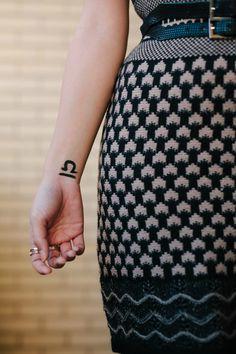 "Libras seeking balance will love our Libra Zodiac Temporary Tattoo. This tattoo design is the classic Libra symbol. - Tattoo Size 1.5"" x 1.5"" - 2 Tattoos Included"