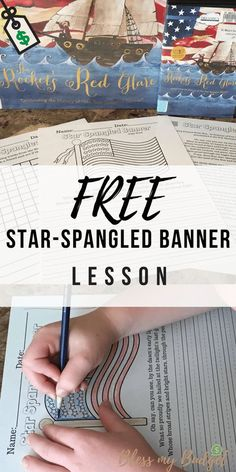 Teach your kids about the Star Spangled Banner for Free -Printable Worksheets 2nd Grade Worksheets, Music Worksheets, Free Printable Worksheets, Free Printables, Homeschool Worksheets, Homeschool Curriculum, History Activities, Music Activities, Star Spangled Banner History