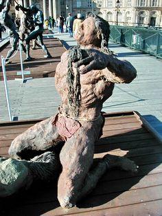 Afficher l'image d'origine Ousmane Sow, African Artists, Garden Sculpture, Sculptures, Fish, Outdoor, Blog, Modern, Design