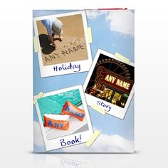 Personalised on Holiday Story Book  from Personalised Gifts Shop - ONLY £12.99