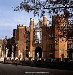 Hampton Court Palace, previous home of Henry 8th - must see when in London.